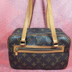 Authentic Louis Vuitton Monogram Cite PM